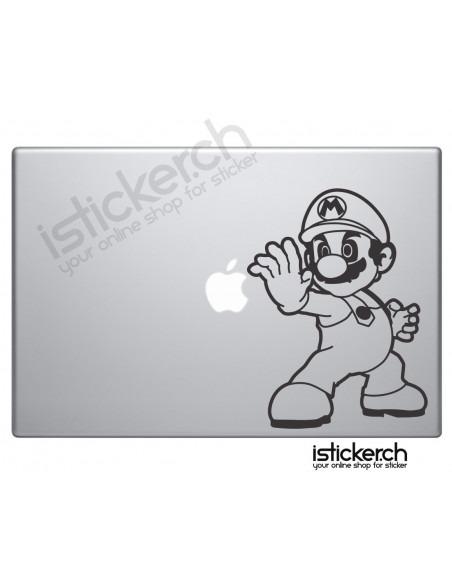 Super Mario Macbook Aufkleber