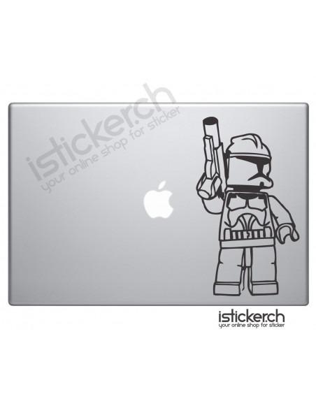 Lego Clonetrooper Macbook Aufkleber