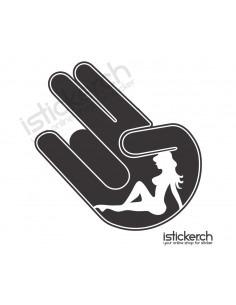 Girl Shocker Hand