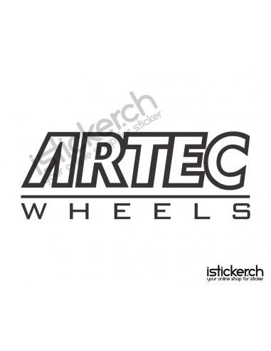 Tuning Marken Artec Wheels Logo
