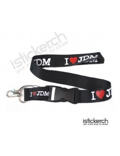 I Love JDM Lanyard