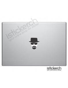 Heisenberg Macbook Aufkleber
