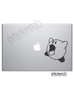 Kirby Macbook Aufkleber