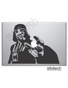 Aufkleber Macbook Darth Vader