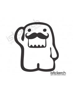Moustache Domo Kun