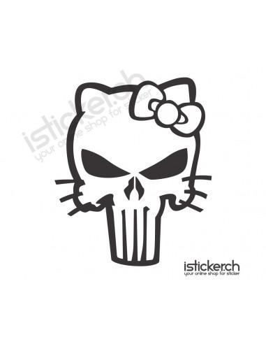 Hello Kitty Punisher Hello Kitty