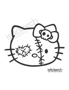 Zombie Head Hello Kitty