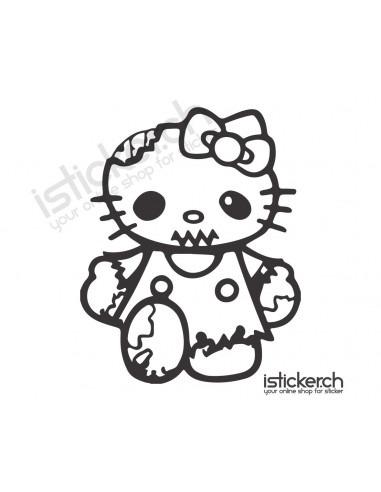 Hello Kitty Zombie Hello Kitty
