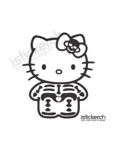 Skelett Hello Kitty