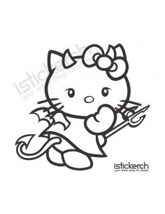 Devil Hello Kitty 1