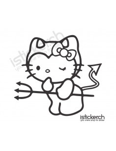 Devil Hello Kitty 2