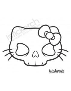 Skull Hello Kitty