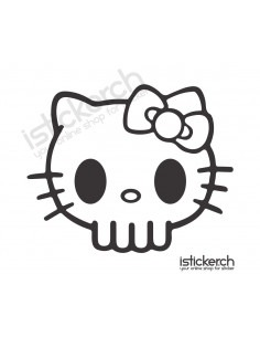 Skull 2 Hello Kitty