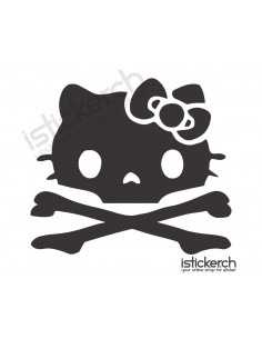 Skull 3 Hello Kitty
