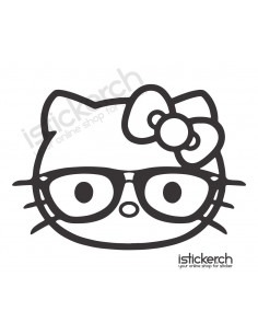 Nerd Hello Kitty