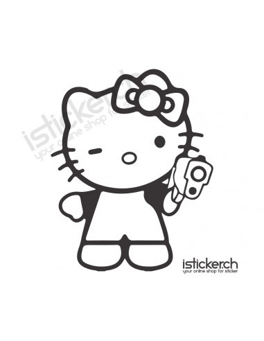 Gun Hello Kitty