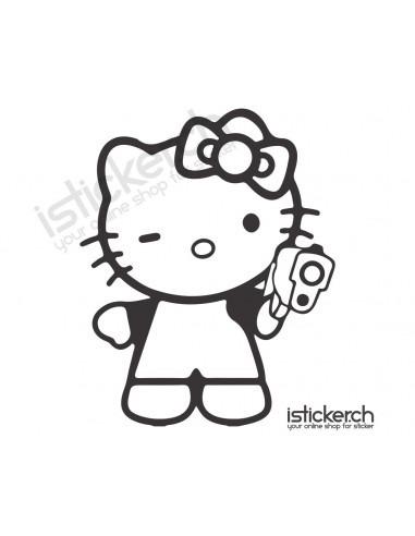 Gun Hello Kitty
