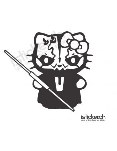 Darth Maul Hello Kitty