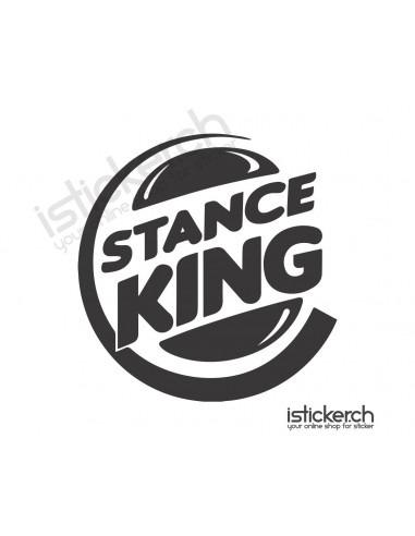 JDM Tuning Sticker Stance King