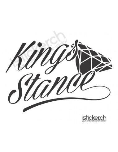 JDM Tuning Sticker Kings Stance
