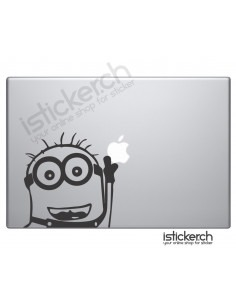 Minion 2 Macbook Aufkleber