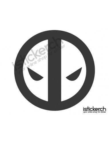 Superhelden Logos Deadpool Logo