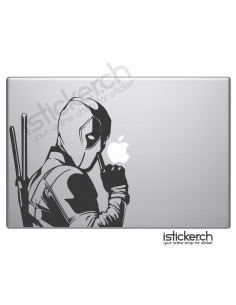 Deadpool Macbook Aufkleber