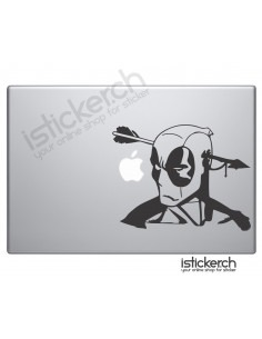 Deadpool 2 Macbook Aufkleber