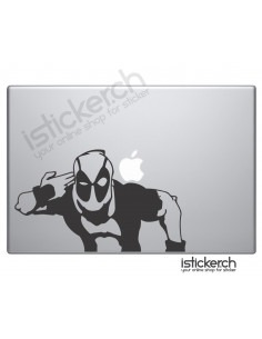 Deadpool 3 Macbook Aufkleber