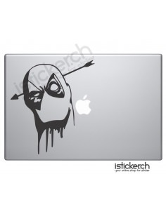 Deadpool 4 Macbook Aufkleber