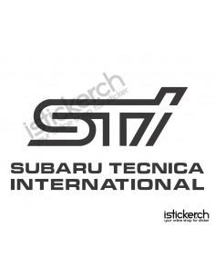 Subaru STI Logo 2