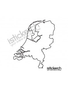 Landkarte Niederlande