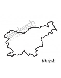 Landkarte Slowenien