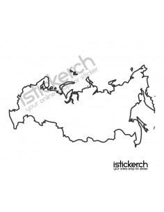 Landkarte Russland