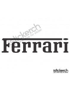 Automarken Ferrari 1