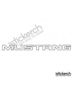 Automarken Mustang 1