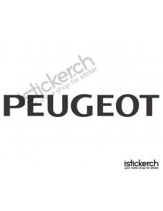 Automarken Peugeot 3
