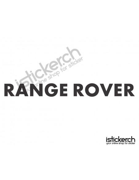Automarken Range Rover