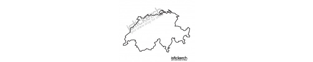 Landkarten Konturen